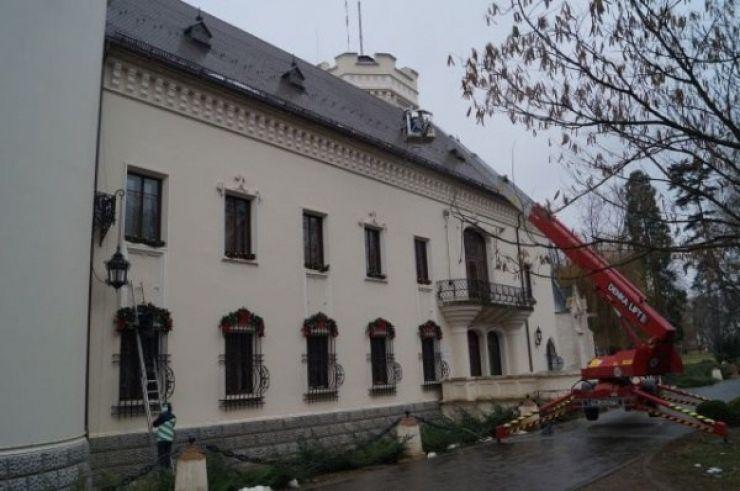 Castelul din Carei, platou de filmare pentru un film românesc