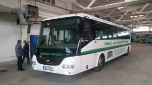 Municipiul Satu Mare a primit spre testare un autobuz electric