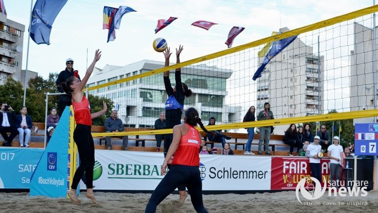 A început 2017 CEV Beach Volleyball Satellite Satu Mare