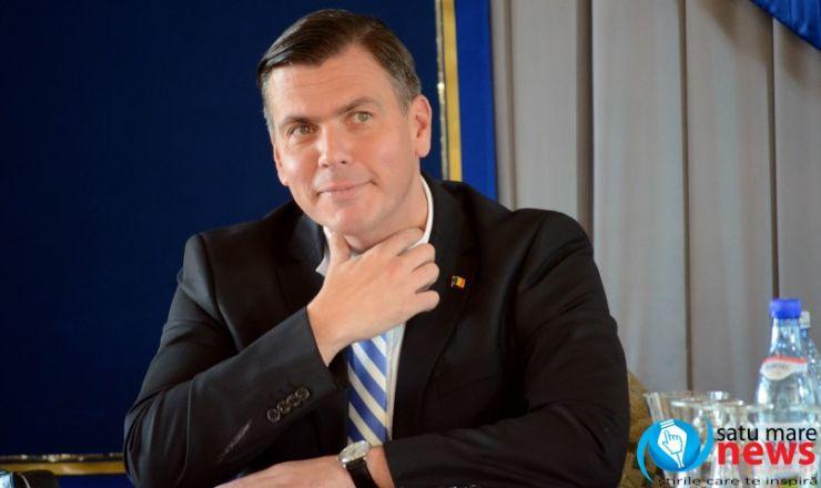 """Adrian Ștef: """"Mi s-au înmuiat puțin genunchii când am auzit suma alocată pentru județul Satu Mare"""""""