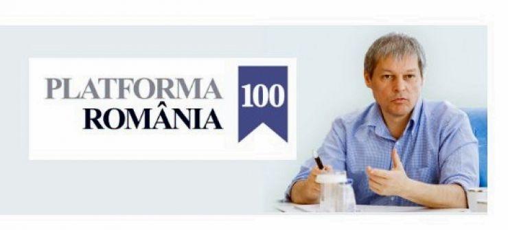 Premierul Dacian Cioloş a lansat platforma România 100