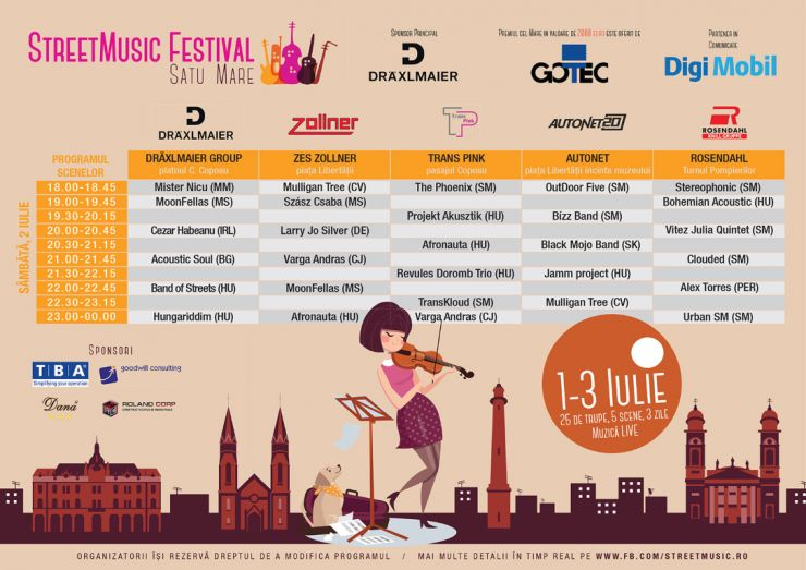"Weekend de ""wellness muzical"" cu StreetMusic Festival"