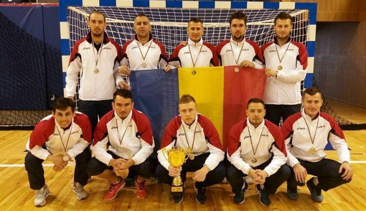 Sătmărenii din echipa MAI, vicecampioni Balcanici la Futsal