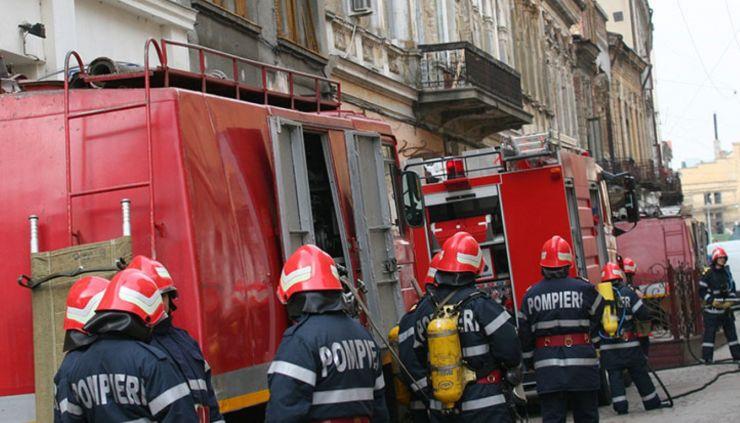 Intervenții în serie ale pompierilor sătmăreni