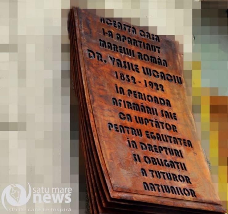 Se dorește amenajarea unei case memoriale a lui Vasile Lucaciu în Satu Mare