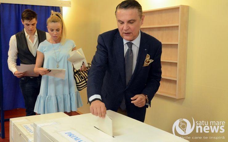 Ovidiu Silaghi a votat pentru continuitate atât la județ, cât și la municipiul Satu Mare