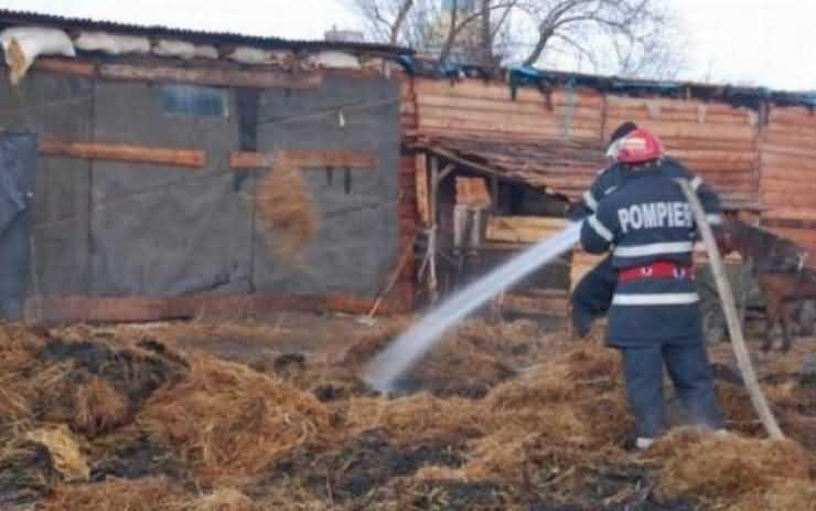 Incendiu la o brutărie din Carei