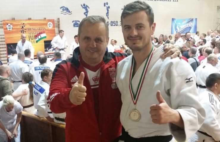 Medalie de aur pentru Vasile Fuşle jr. la Masters Judo Championship din Slovacia