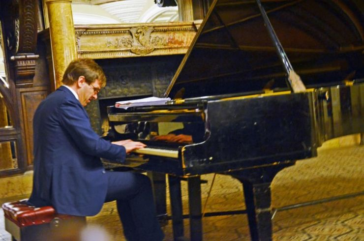 Recital al pianistului italian Vincenzo Cipriani la Castelul din Carei