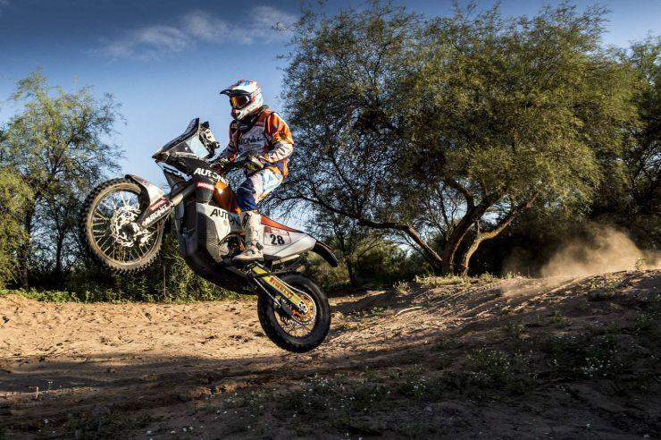Dakar 2018 |  Mani Gyenes, locul 27 în penultima etapă a Raliului Dakar