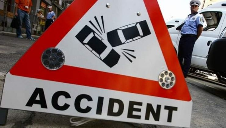Sătmărean implicat într-un accident cu trei autovehicule pe Calea Borşului