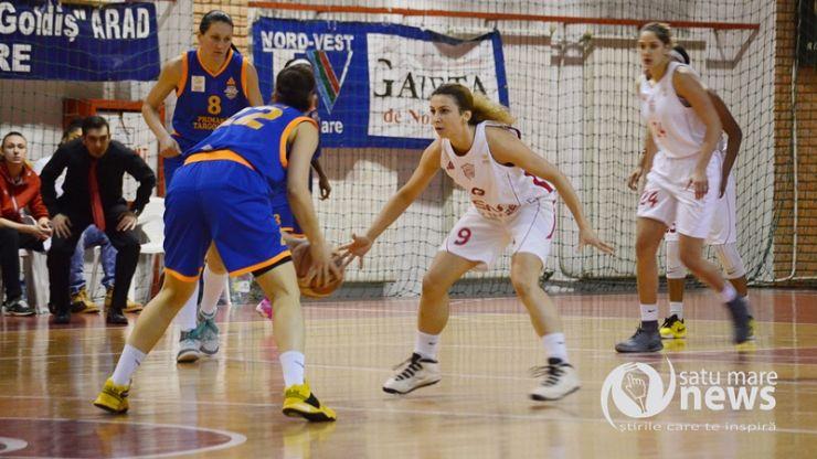 Baschet | CSM Satu Mare continuă seria înfrângerilor din Liga Națională