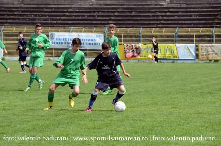 ÎN PREMIERĂ la SATU MARE. Selecție de fotbaliști U14 din Satu Mare și Maramureș (Foto&Video)