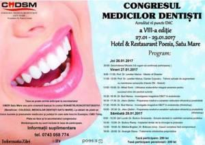 Un nou congres al medicilor dentiști, la Satu Mare