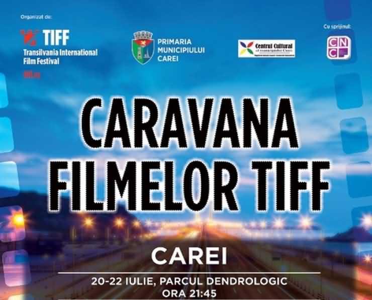 Caravana Filmelor TIFF, la Carei. Vezi PROGRAMUL proiecțiilor