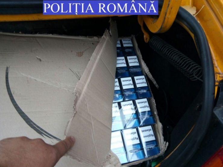Dosar penal pentru o sătmăreancă prinsă când vindea țigări de contrabandă de acasă