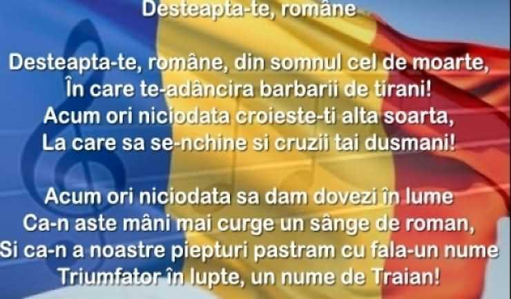 PROGRAM Ziua imnului național al României