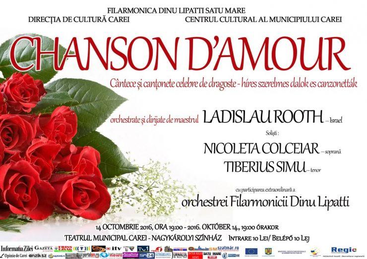 """Concert simfonic """"Chanson d' Amour"""""""