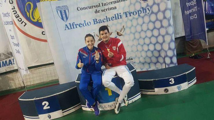 """Adrian Szilagyi a câștigat """"Trofeul Alfredo Bachelli"""" la spadă seniori de la Craiova"""