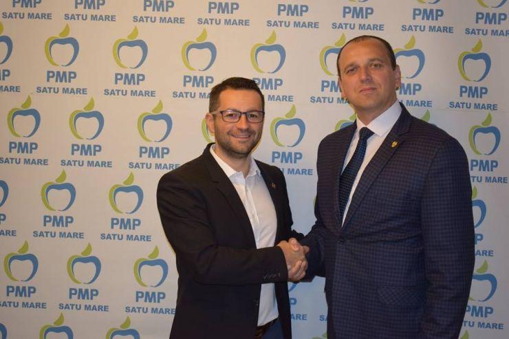 Senatorul maramureșean Ioan Iustin Talpoș este noul președinte a organizației PMP Satu Mare