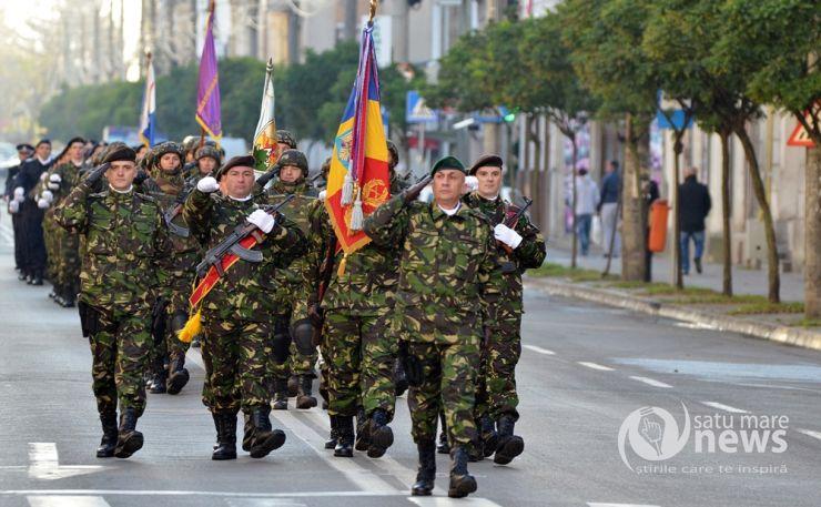 """""""Ziua Armatei"""", marcată la Satu Mare. Manifestările vor continua la Carei, în prezența premierului României"""