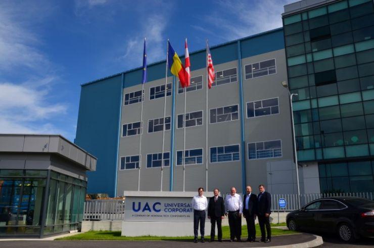 Prefecții județelor Satu Mare și Maramureș au întreprins o vizită la UAC Europe din Dumbrăvița