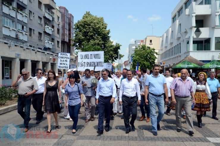 Miting PNL la Satu Mare (FOTO & VIDEO)