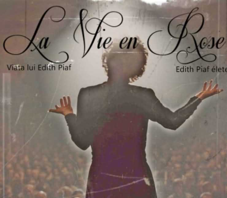 "Spectacol music-hall ""La Vie en Rose - Viața lui Edith Piaf"" la Carei"