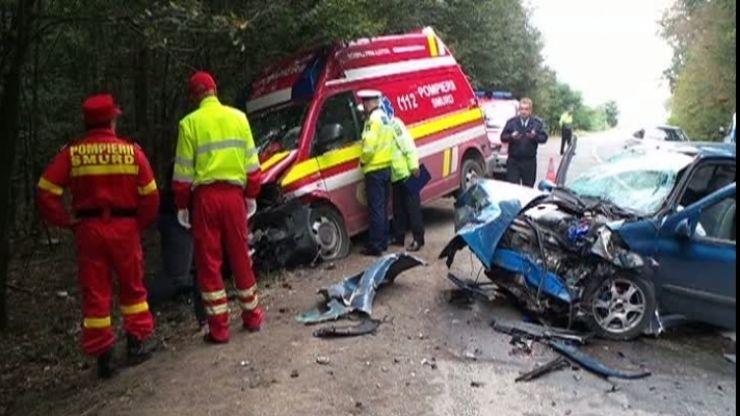 Sătmărean implicat într-un accident grav, la Bobota