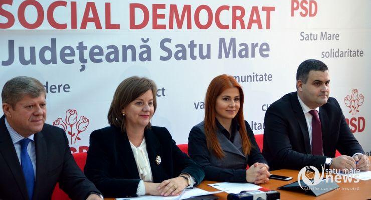 """PSD Satu Mare, la bilanț.  Aurelia Fedorca: """"A fost un an în care Guvernul PSD a alocat fonduri importante județului Satu Mare"""""""