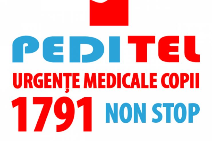 PEDITEL 1791 urgențe și sfat medical pediatric prin telefon 24/7