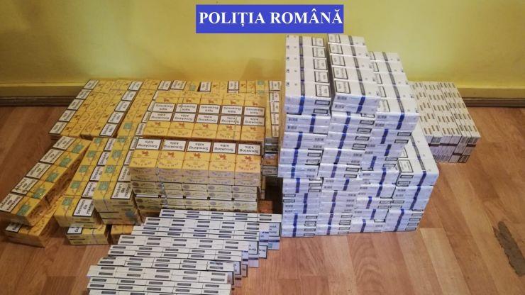 Contrabandistă din Livada prinsă cu peste 19.000 fire de țigarete din Ucraina