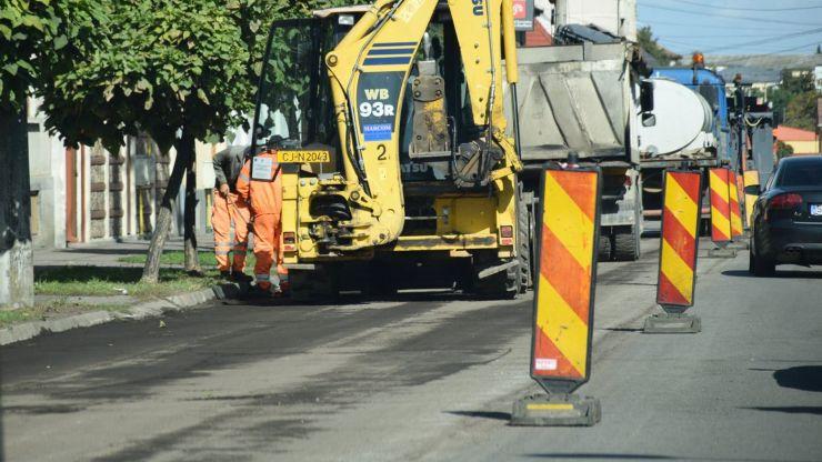Se închide circulația rutieră pe o porțiune din str. Avram Iancu