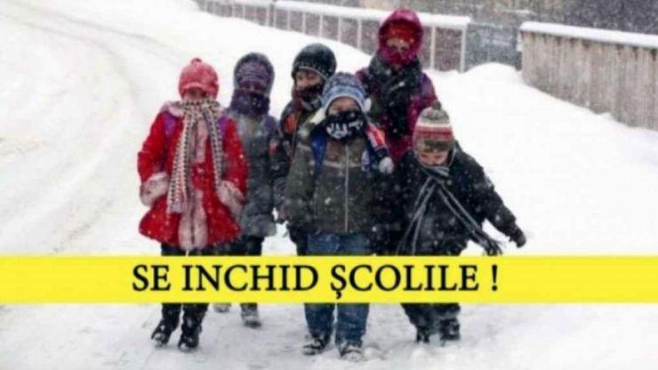 ULTIMĂ ORĂ | Se închid școlile! Cursurile au fost suspendate în toate școlile