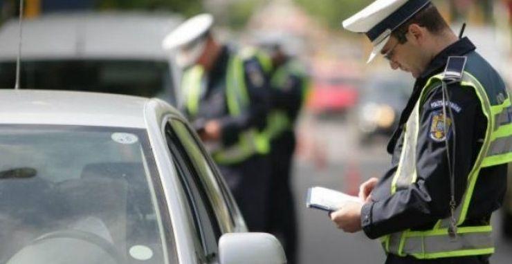 Sătmărean amendat de polițistii orădeni. Conducea cu viteză și fără permis