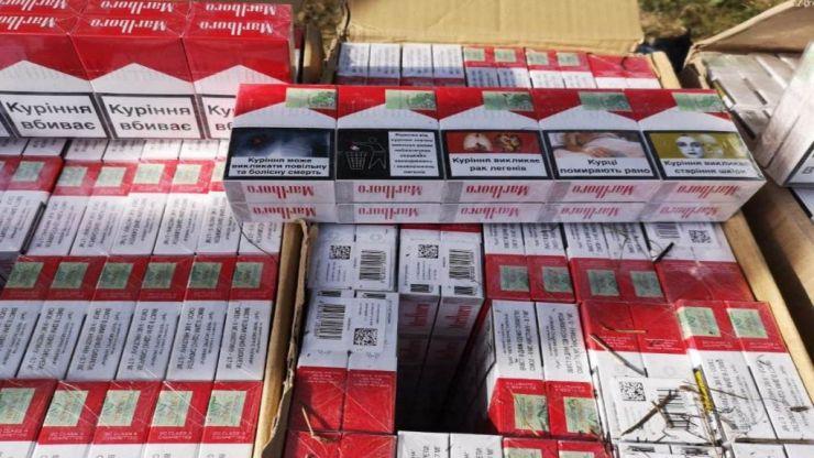 Captură impresionantă de țigări de contrabandă în județul Satu Mare