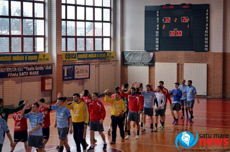 Handbal. CSM Satu Mare 32 - 26 HC Sibiu