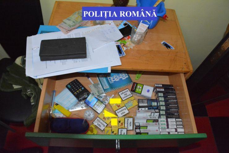 Percheziții | Contrabandiștii din Piața Someș, reținuți de polițiști