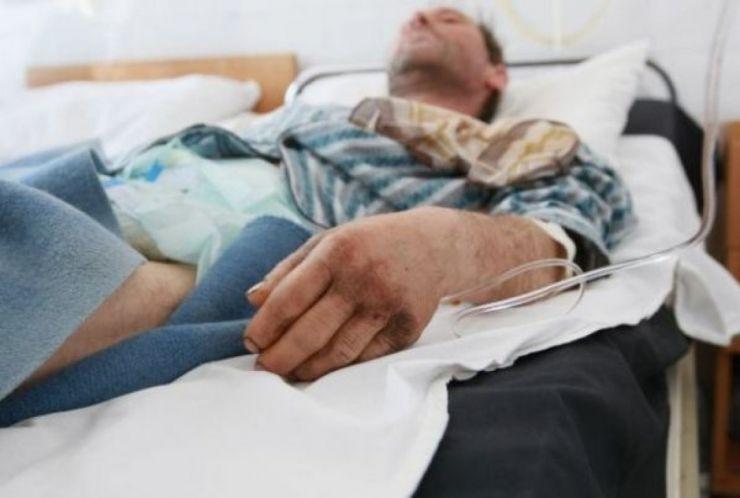 Un bărbat a ajuns la spital cu hipotermie