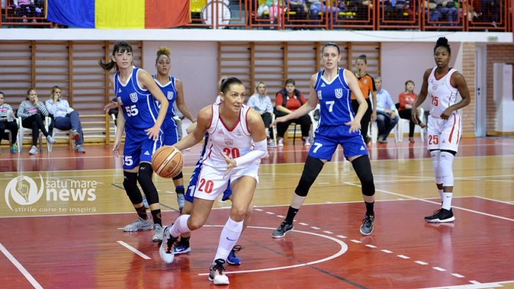 Baschet feminin | Etapa 2 | CSM Satu Mare 79 - 63 CSU Alba Iulia