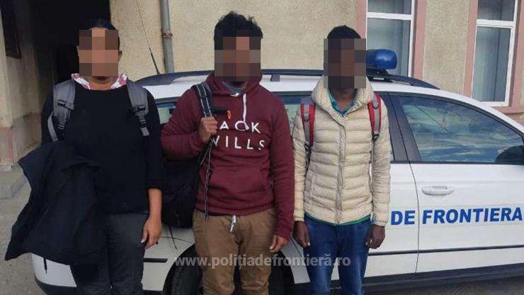 Trei cetățeni din Sri Lanka opriți din drumul ilegal spre Spațiul Schengen