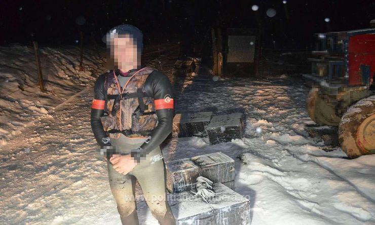 Ucrainean reținut și 4.800 pachete cu țigări de contrabandă confiscate la frontieră