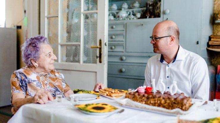Lajos Ferenczi și Elisabeta Bató, sărbătoriți la împlinirea vârstei de 100 de ani