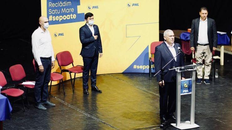 Romeo Pop, ales președintele Organizației Municipale a PNL Satu Mare
