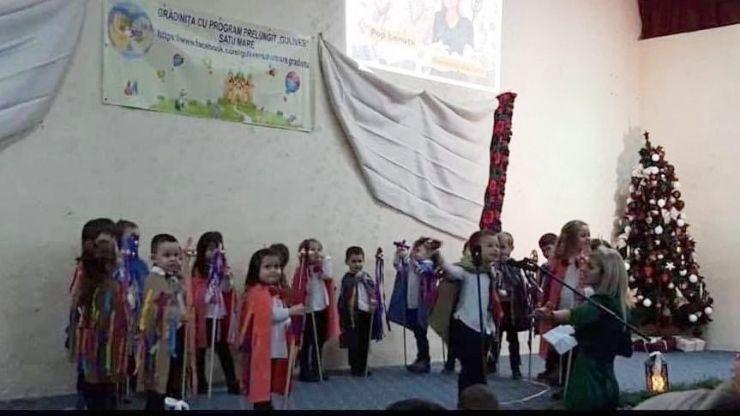 Spectacol caritabil al copiilor de la Grădinița Guliver