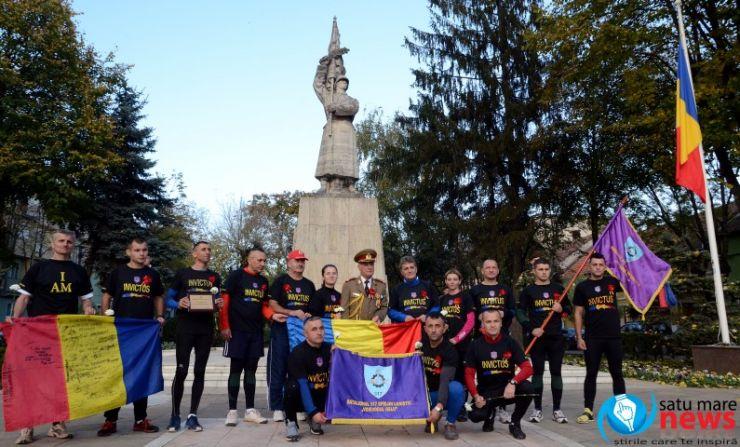 Ştafeta Veteranilor a ajuns la Satu Mare (foto & video)