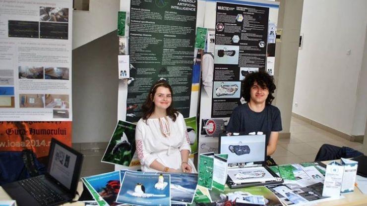"""Rezultate deosebite obţinute de elevii de la CN """"Mihai Eminescu"""" la Concursul Naţional de Ştiinţă şi Inginerie pentru Elevi RoSEF"""