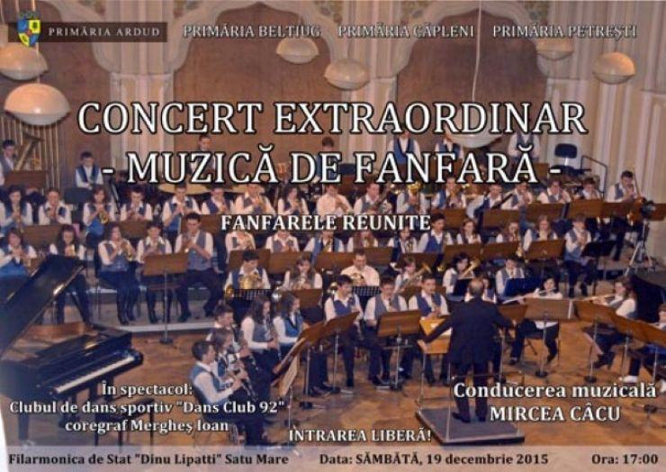 """Concert de fanfare la Filarmonica """"Dinu Lipatti"""""""