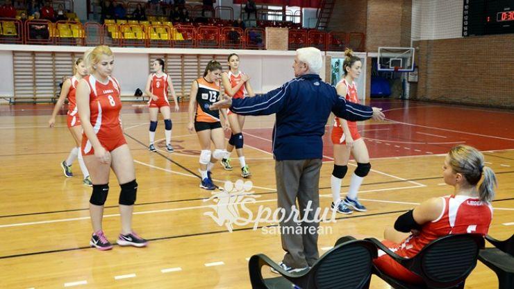 Volei | Prima înfrângere pe teren propriu pentru fetele de la CSM Satu Mare