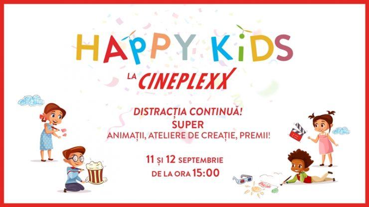 Weekendul vine cu noi animații și ateliere de creație la Cineplexx